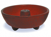 Iwachu INC29080RD Stone Zen Garden Fragrance Oil Burner 3 cm Red