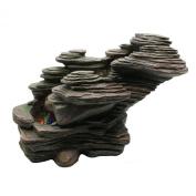 Zen'SCFR132 Fountain Light Stone River Nature 38 x 19 x 25 cm