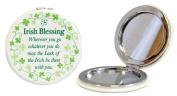 Irish Blessing Compact Mirror