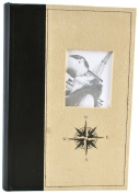 Pinnacle Frames and Accents Compass 300-Pocket Photo Album with Frame Front