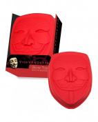 Silicone baking mould Vendetta mask