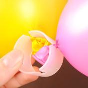 50 Pieces Balloon Connectors Arch Column Clips for Wedding Party Celebrations Xmas