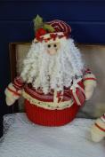 36cm Standing Indoor Christmas Decoration Character - Santa