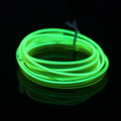 Possbay EL Wire Cold LED Car Light Interior Neon Atmosphere Lamp Decor Bike Bar 1M for Party Wedding Dancing Home Decorations Decor