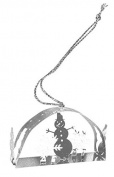 Pluto Produkter Snowman 3D Hanging Decoration