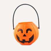 The Halloween Decoration Pumpkin Bucket Design Environmental PE Material