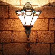 TOYM 20cm Mermaid walkway balcony aisle wall lamp Tiffany lamps minimalist chic bar wall sconce