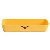 Fanmeili SN2107 Bear Drawer Organiser Desktop Container - Yellow