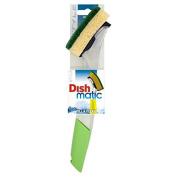 Dishmatic Fillable Washing Up Brush with Heavy Duty Sponge