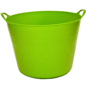 42Lt Flexi Flexible Plastic Tub Tubs Bucket for Gardening Building Laundry