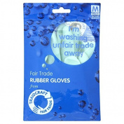 Fairtrade Rubber Gloves / Medium 1pair