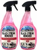 Pro-Kleen Caravan and Motorhome Black streak Remover 2 x 750ml