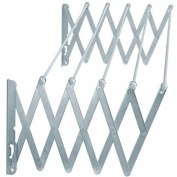 Oryx 5160330 Extendible Wall-Mounting Clothes Line, Aluminium, 1.40m
