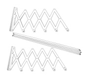 Oryx 5160305 Extendible Wall-Mounting Clothes Line, 1.20m