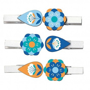 Mini clothespins - Flowers