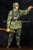 Alpine Miniatures 1:35 WWII German Grenadier NCO - Resin Figure #35194