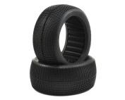 JConcepts Reflex 10cm 1/8 Truck Tyre Blue (2) JCO312501
