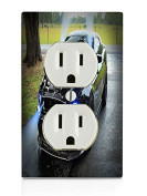 Shelby Cobra Electrical Outlet Plate