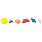 ETA Hand2Mind Plastic Pattern Blocks, Set of 250
