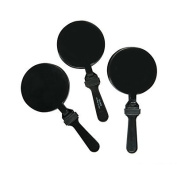 Round Black Clappers