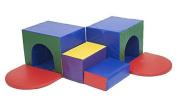 ECR4Kids SoftZone Corner Tunnel Maze Foam Climber by ECR4Kids