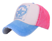 Five Star Vintage Patchwork Adjustable Twill Cotton Super Cool Summer Outdoor Baseball Cap