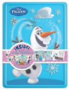 Disney Frozen Olaf Collector's Tin [With 3 Activity Books and 50 Stickers and A Poster and 4 Markers]