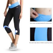 Baleaf Women's Yoga Workout Capri Legging