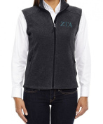 KYS Zeta Tau Alpha Sorority Fleece Vest
