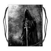 Dark Gothic Collection Drawstring Backpack Basketball Drawstring Bags