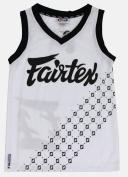 FAIRTEX MMA/BASKETBALL JERSEY - JS6 - WHITE