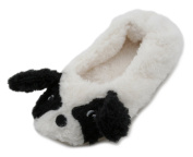 Slumberzzz Girls Animal Character Plush Ballet slippers