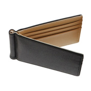 Faux Leather Mens Slim Magic Money Clip Wallet Credit Card ID Holder Bifold Purse