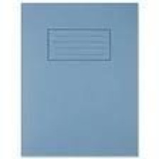 """EXERCISE PROJECT BOOKS A4 TOP HALF of PAGE BLANK/BOTTOM 15mm LINES """"10 Pack"""""""