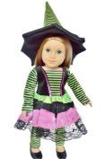 WITCH COSTUME FOR AMERICAN GIRL DOLLS