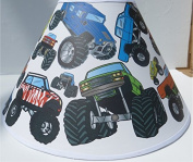 Monster Truck Lamp Shade / Monster Truck Room Decor