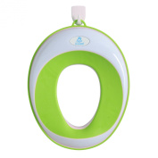 Lil' Jumbl Toilet Seat Ring for Potty Training - Green