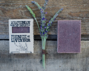 French Lavender. Floral & Balsamic Bar Soap. 100% All-Natural Handmade.
