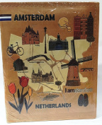 Amsterdam Netherlands Embossed Photo Album 200 Photos / 4x6