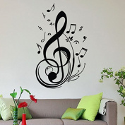 Soledi® New Fashion Vinyl Music Note Wall Decal Wall Sticker Home Arts Wall Decor Decoration Hot