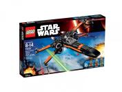block Star Wars Spacecraft Poe's X-Wing Fighter (717pcs) Figures Building Block Toys
