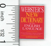 Dollhouse Miniature Popular Dictionary by Cindi's Mini's