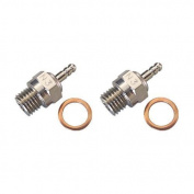 2pcs HSP 70117 Duty Glow Plug #3 N3 Hot Spark Nitro Engine Parts Replace OS For 1:8th 1:10 RC Car Truck Fit Traxxas