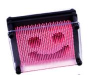 DOMAGRON Pin Point Impression Plastic Needle Art Frame (9.5cm x 13cm ) - Pink