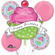 Birthday Sweets Cupcake Bouquet Of Balloons
