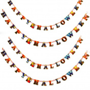 Yonger Party Supplies Halloween Decoration Kit and Confetti Banner