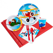 Aeroplane Adventure Party Pack for 16