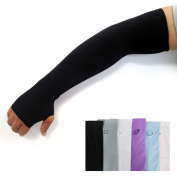 Uv Protection Hand Cover Arm Sleeves Sports Driving Golf Cooling Cool Cover Sun 1pair