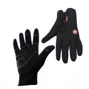 Skysper Windproof Cycling Gloves Winter Warm Outdoor Sports Gloves Touchscreen Gloves