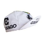 Retro cycle team cap Vintage fixie Colnago Cicli White